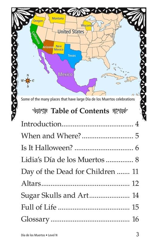 Book Preview For Día de los Muertos Page 3