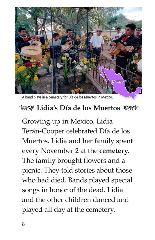 Book Preview For Día de los Muertos Page 8