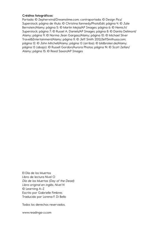 Book Preview For Día de los Muertos Page 17