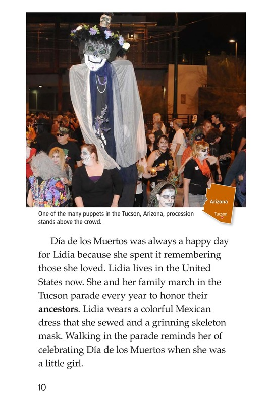 Book Preview For Día de los Muertos Page 10