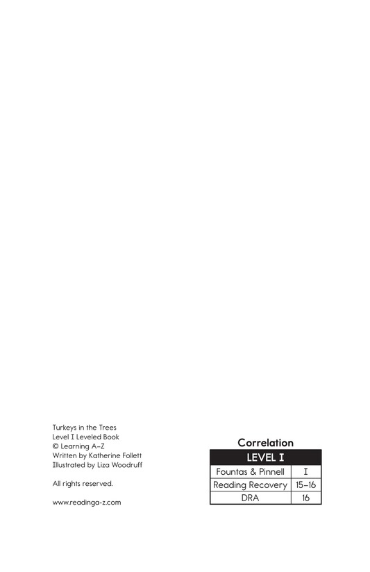 Book Preview For Turkeys in the Trees Page 2