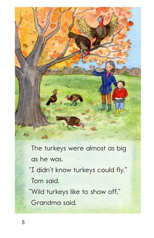 Book Preview For Turkeys in the Trees Page 8
