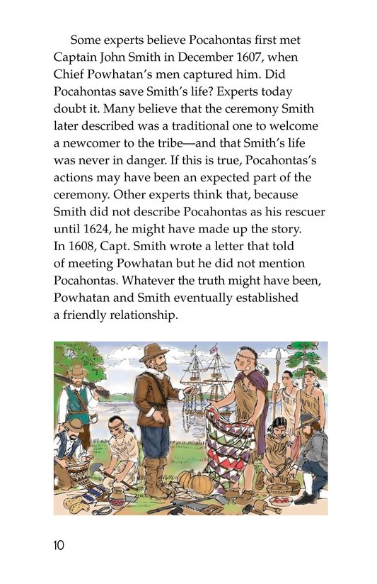 Book Preview For Pocahontas at Jamestown Page 10