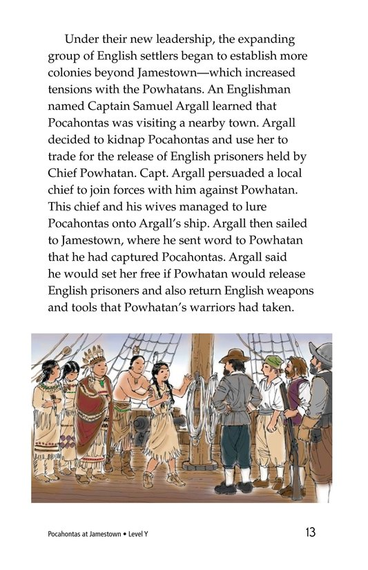 Book Preview For Pocahontas at Jamestown Page 13