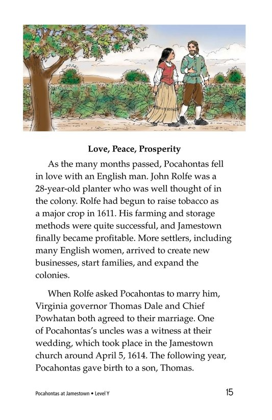 Book Preview For Pocahontas at Jamestown Page 15