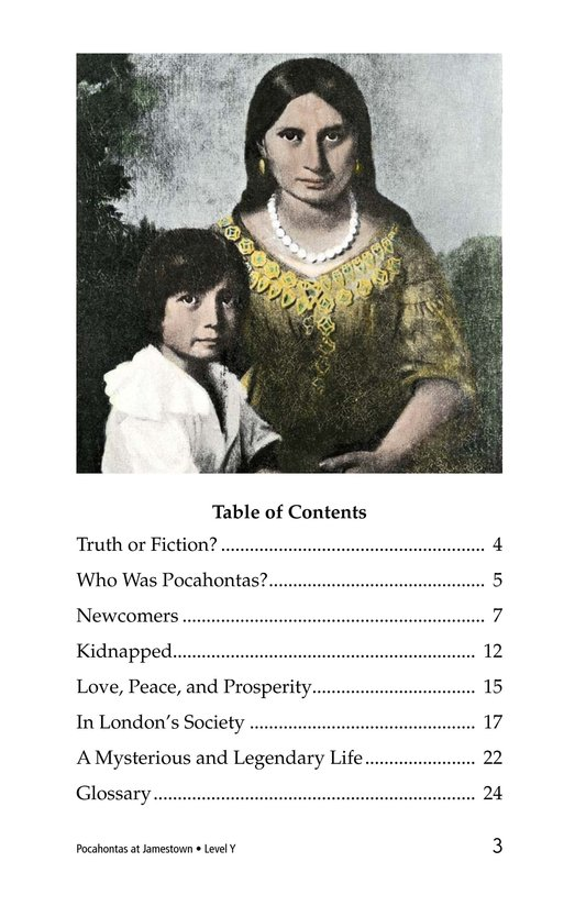 Book Preview For Pocahontas at Jamestown Page 3