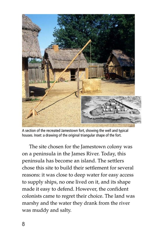 Book Preview For Pocahontas at Jamestown Page 8