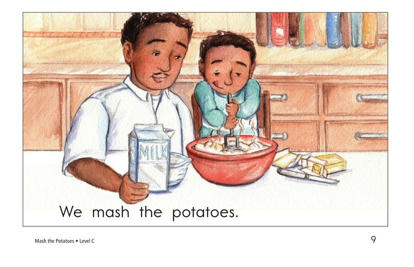 Book Preview For Mash the Potatoes Page 9