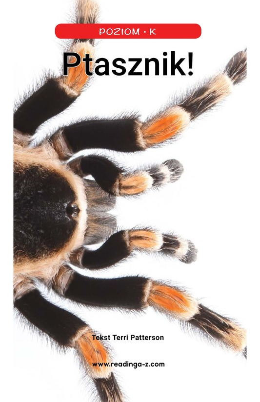 Book Preview For Tarantula! Page 1