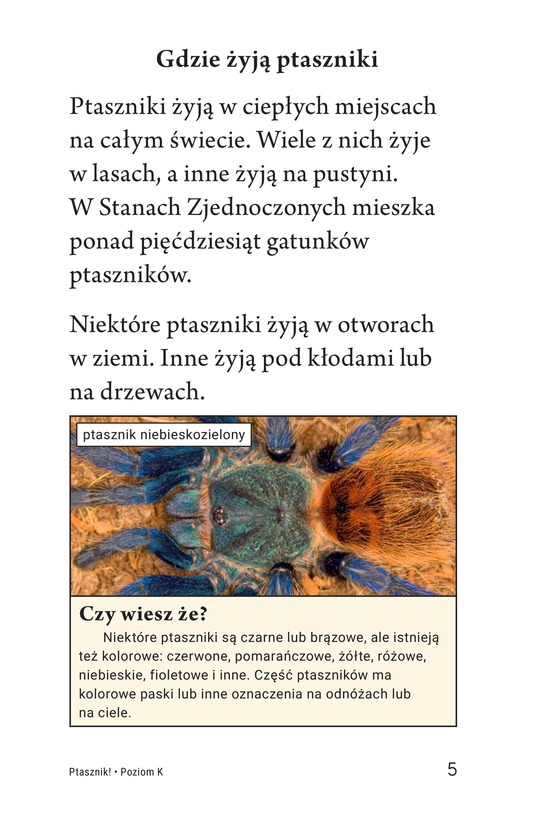 Book Preview For Tarantula! Page 5