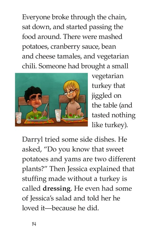 Book Preview For Spare the Turkey Page 14
