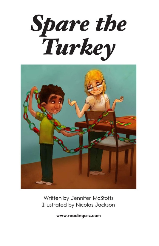 Book Preview For Spare the Turkey Page 2