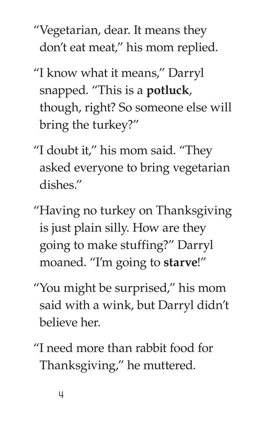 Book Preview For Spare the Turkey Page 4