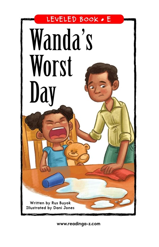 Book Preview For Wanda's Worst Day Page 0