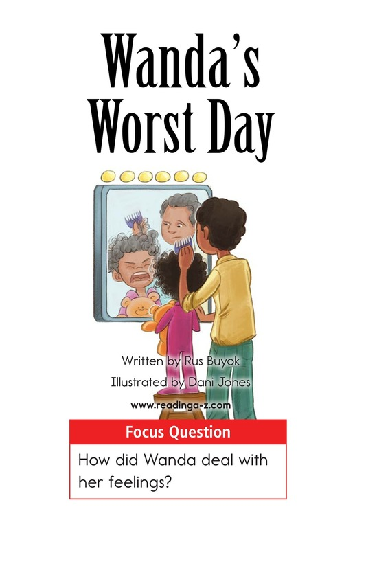 Book Preview For Wanda's Worst Day Page 1