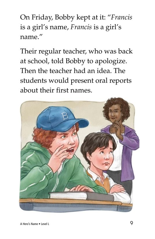 Book Preview For A Hero's Name Page 9