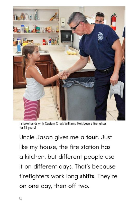 Book Preview For My Uncle Is a Firefighter Page 4