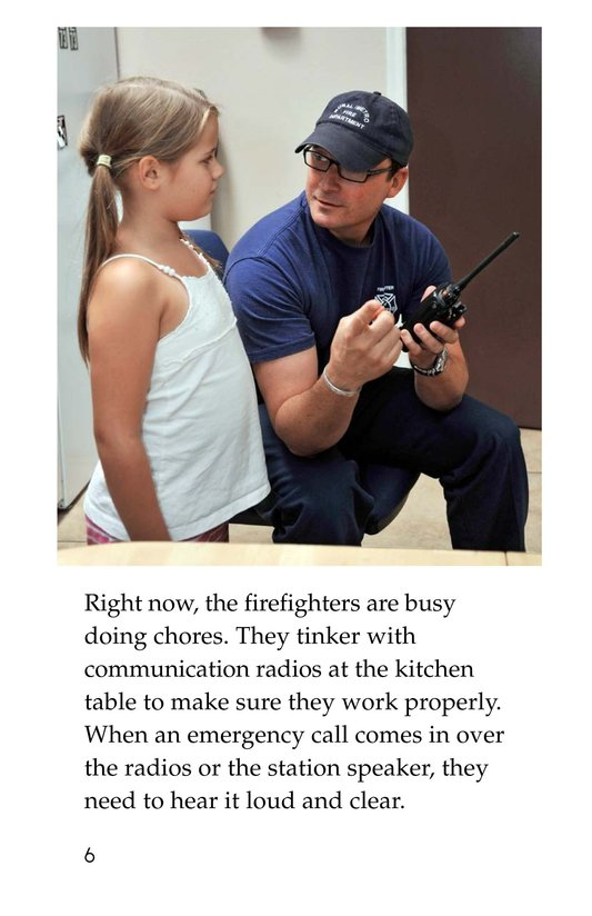 Book Preview For My Uncle Is a Firefighter Page 6