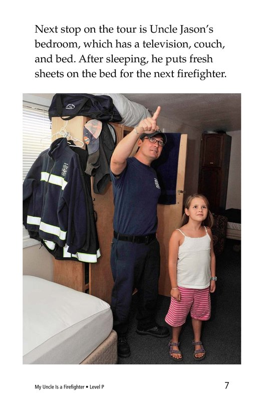 Book Preview For My Uncle Is a Firefighter Page 7