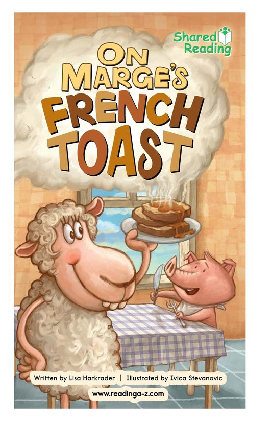 Book Preview For On Marge's French Toast Page 1
