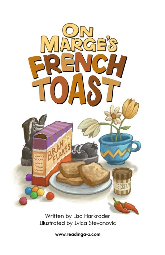 Book Preview For On Marge's French Toast Page 2