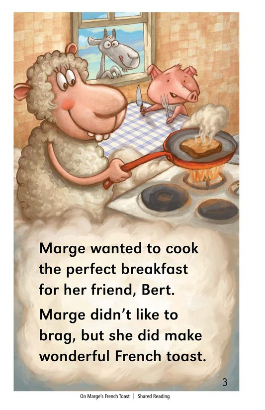 Book Preview For On Marge's French Toast Page 3