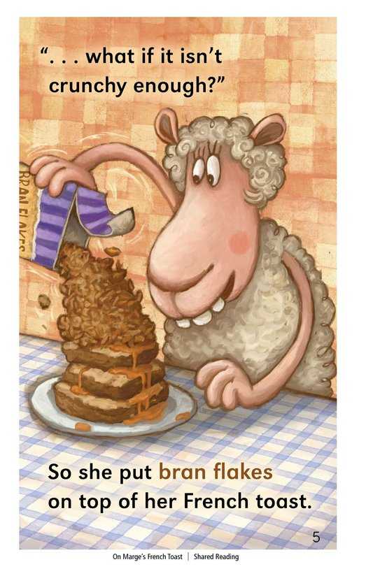 Book Preview For On Marge's French Toast Page 5