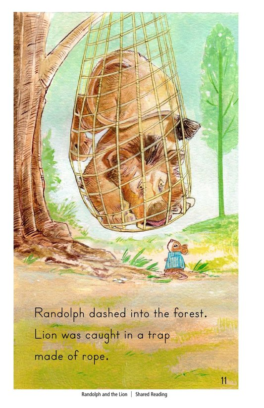 Book Preview For Randolph and the Lion Page 11