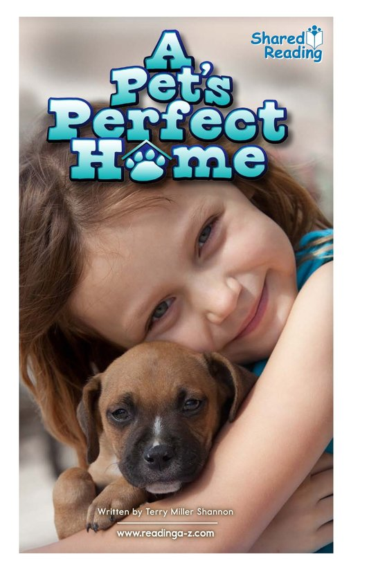 Book Preview For A Pet's Perfect Home Page 1