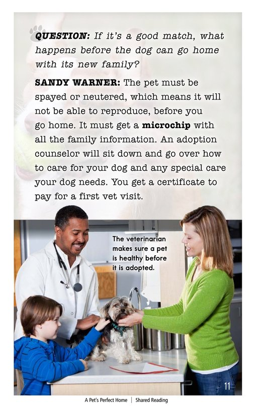 Book Preview For A Pet's Perfect Home Page 11