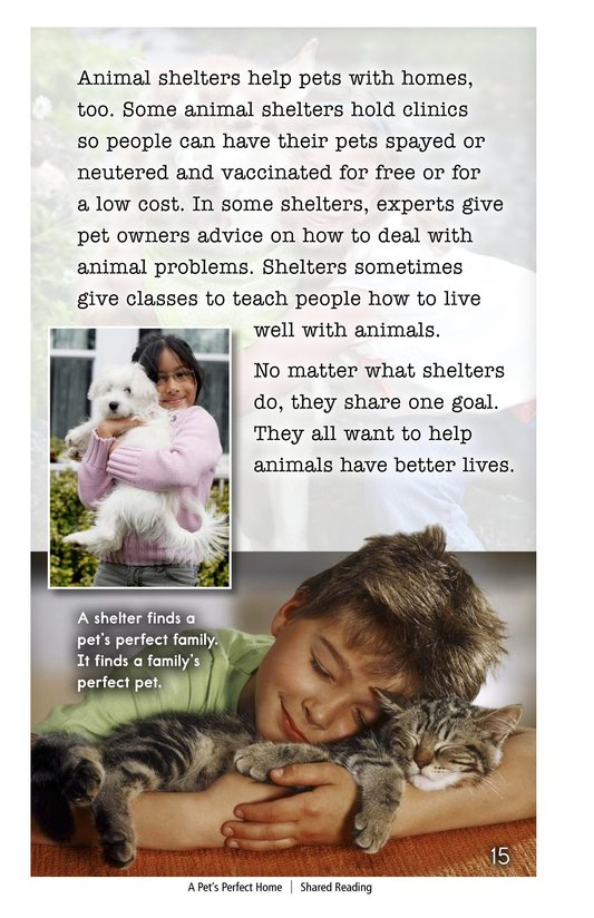 Book Preview For A Pet's Perfect Home Page 15