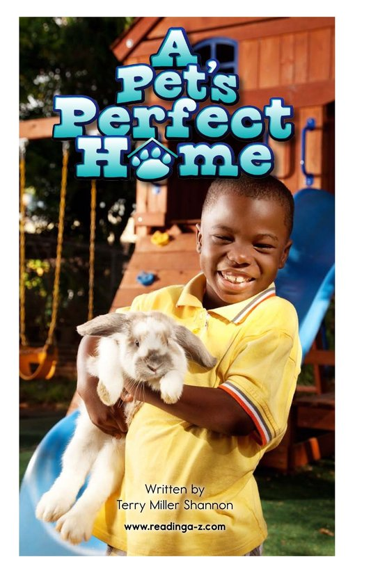 Book Preview For A Pet's Perfect Home Page 2