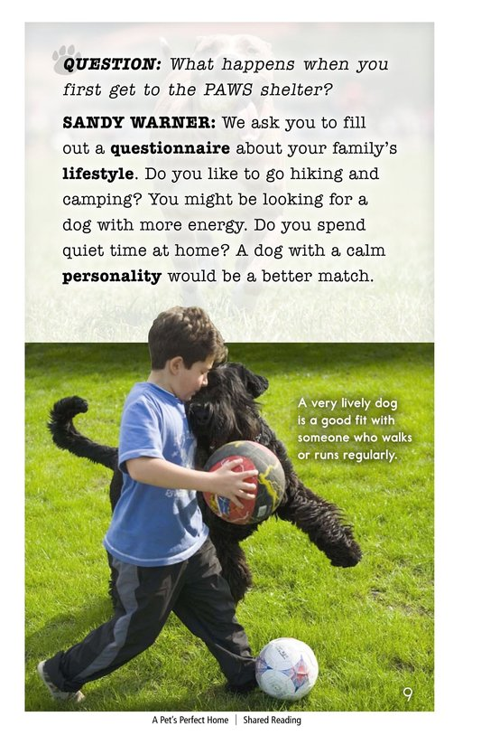 Book Preview For A Pet's Perfect Home Page 9