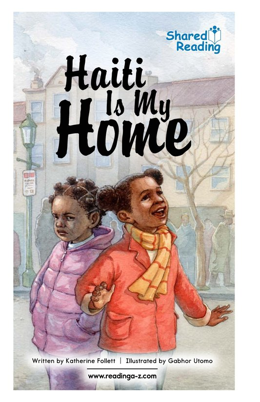 Book Preview For Haiti Is My Home Page 1