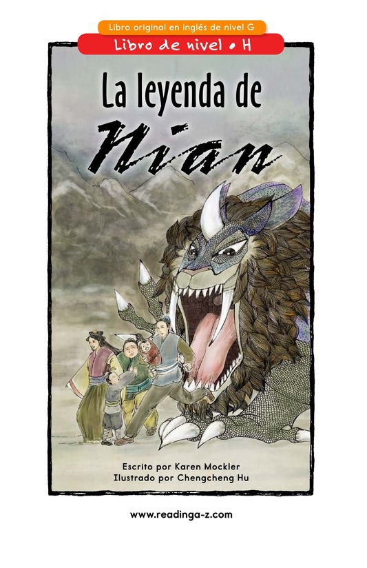Book Preview For The Legend of Nian Page 0