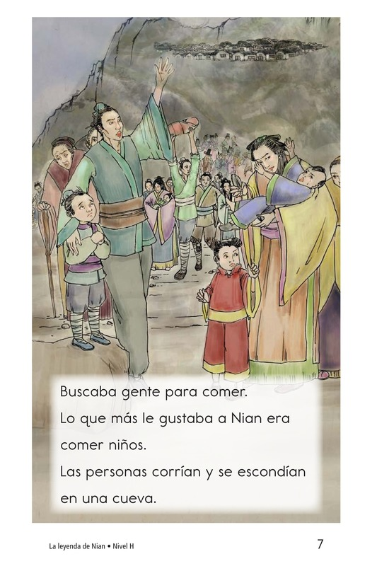 Book Preview For The Legend of Nian Page 7