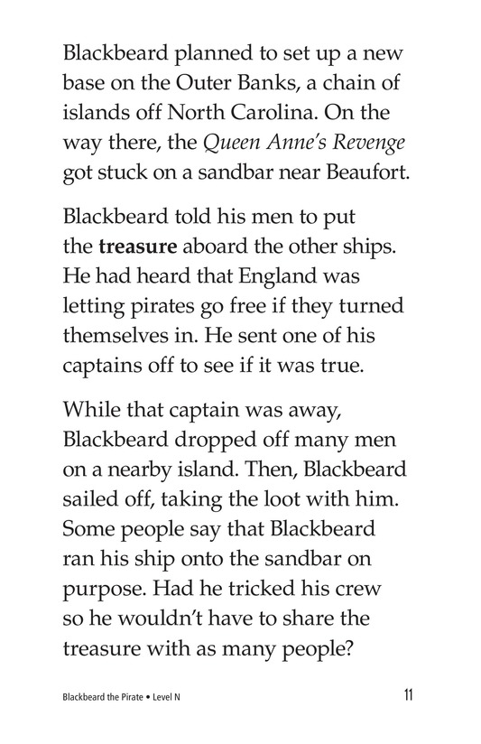 Book Preview For Blackbeard the Pirate Page 11
