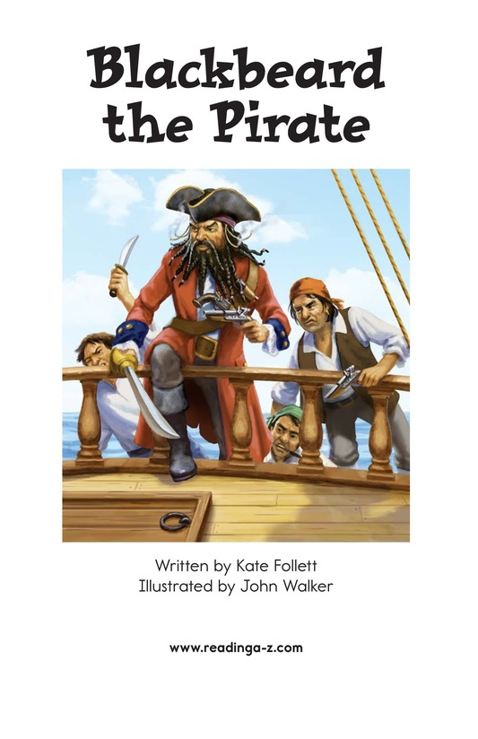 Book Preview For Blackbeard the Pirate Page 2