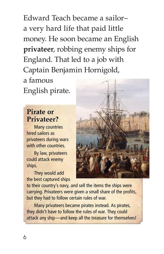Book Preview For Blackbeard the Pirate Page 6