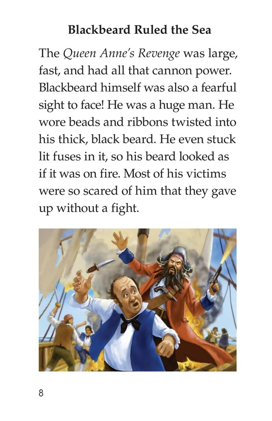 Book Preview For Blackbeard the Pirate Page 8