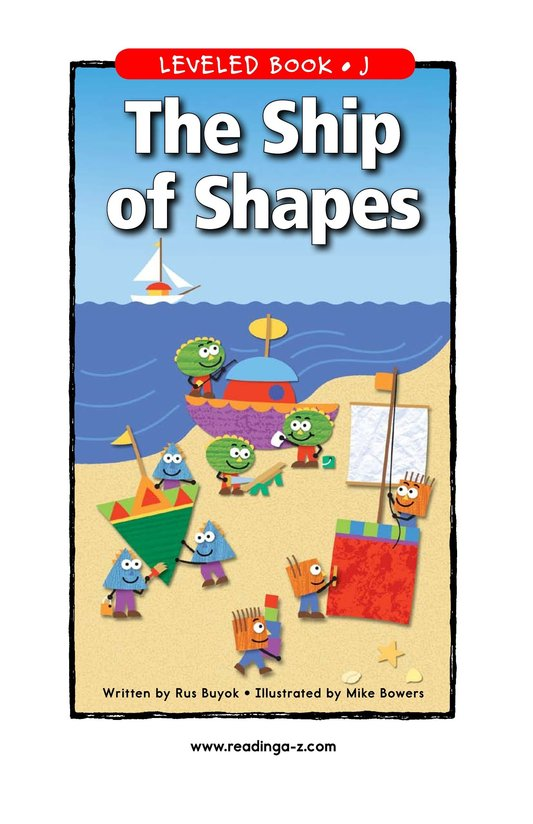 Book Preview For The Ship of Shapes Page 1