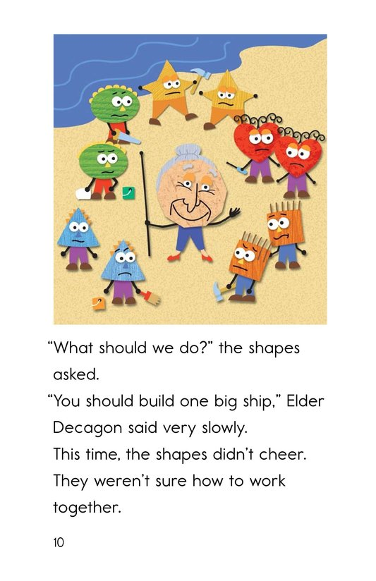 Book Preview For The Ship of Shapes Page 10