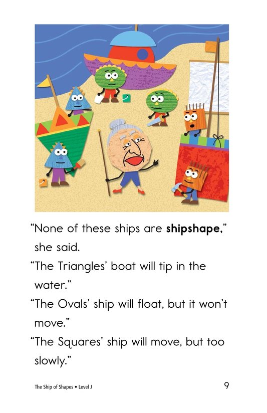 Book Preview For The Ship of Shapes Page 9