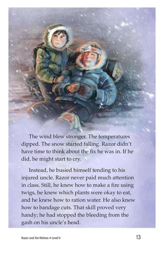 Book Preview For Razor and the Wolves Page 13