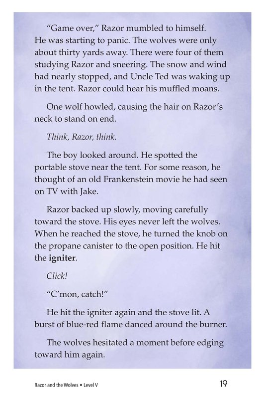 Book Preview For Razor and the Wolves Page 19