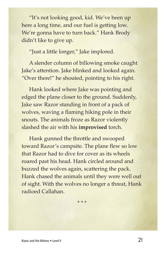 Book Preview For Razor and the Wolves Page 21