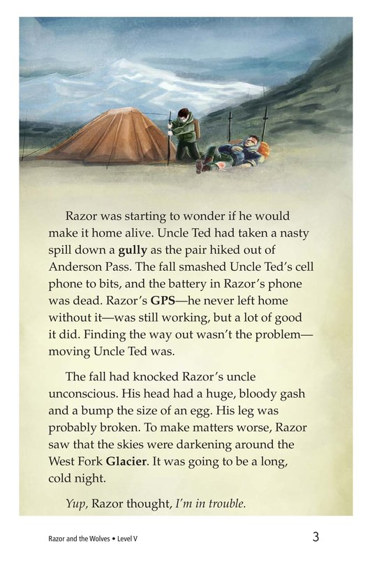 Book Preview For Razor and the Wolves Page 3
