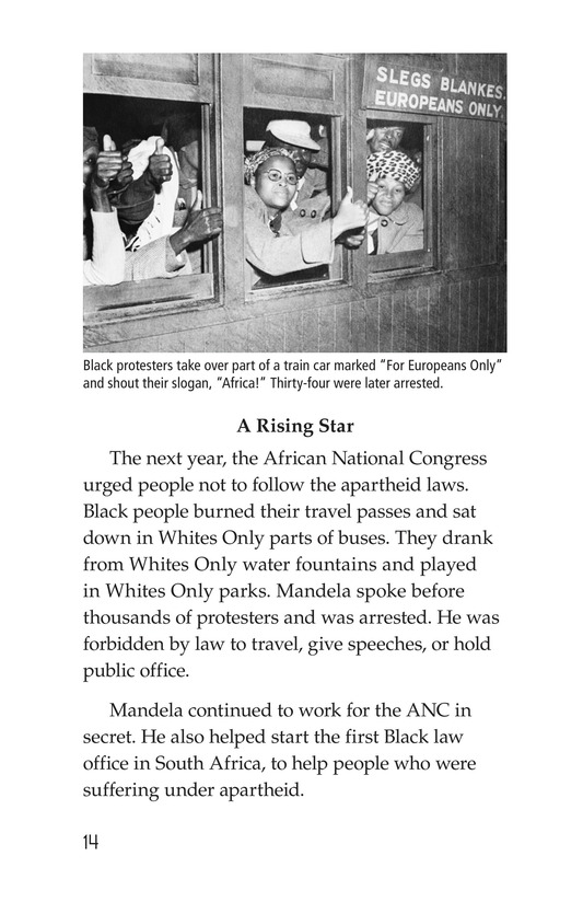 Book Preview For Nelson Mandela Page 14