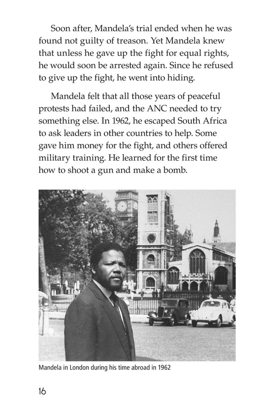 Book Preview For Nelson Mandela Page 16