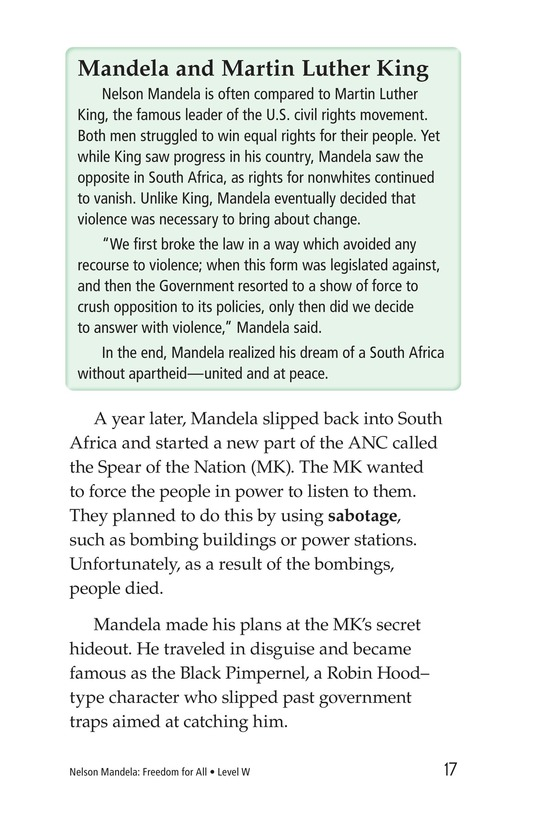 Book Preview For Nelson Mandela Page 17